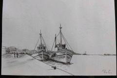 Schets-schepen
