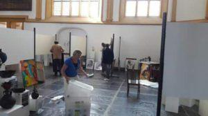 Expositie tijdens internationale Hanzedagen in Kampen